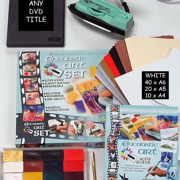 99532000 Get Started Plus encaustic art beginners set